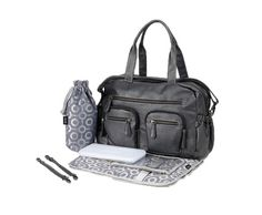 mums-and-baby-Charcoal- Faux -Buffalo- Carry- Diaper- Bag- Tesco Direct, Changing Bag, Online Bags, Beautiful Bags, Sling Backpack, Baby Items, Fashion Backpack, Charcoal, Buffalo