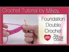 ▶ Foundation Double Crochet Tutorial - YouTube