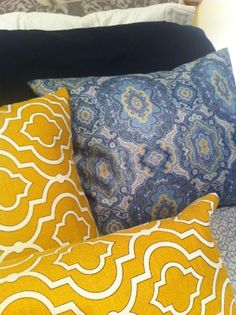 How to make throw pillows in six easy steps!