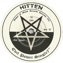 45cat - Hitten - Evil Power / Midnight Riders - Anger Of Metal Records - Germany - 013