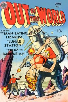 Out of this World #pulp #comics #cover #art