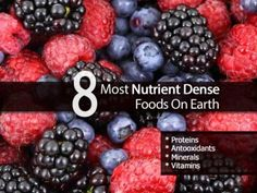8 Most Nutrient Dense Foods On Earth