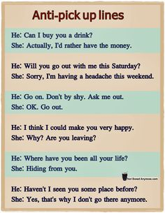 cool pick up lines for girls