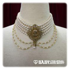 Gothic Jewelry Box Diy Baby the Stars Shine Bright Tassel Pearl Choker Bold Jewelry, Tassel Jewelry, Jewelry Box, Fashion Jewelry, Diy Tassel, Gothic Chokers, Gothic Jewelry, Pirate Jewelry, Kawaii Jewelry