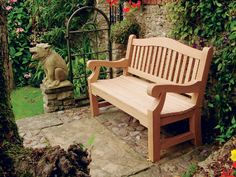 Garden Bench Plans - Outdoor Furniture Plans and Projects - Woodwork, Woodworking, Woodworking Plans, Woodworking Projects