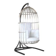 Finemod Imports Modern Bird Hanging Chair FMI10234