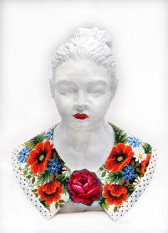 Folkkonst Archives - Kurbits - din slöjdkompis i samtiden Folklore, Crochet Necklace, Textiles, Embroidery, Stitch, Instagram Posts, Artist, Inspiration, Beautiful