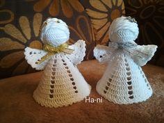 Crochet Angel Pattern, Christmas Ornaments, Holiday Decor, Home Decor, Xmas Ornaments, Homemade Home Decor, Christmas Jewelry, Christmas Baubles, Decoration Home