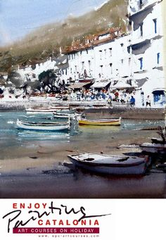 Joseph Zbukvic in Spain #watercolor jd