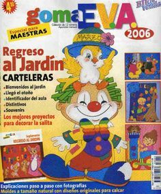 revistas de manualidades gratis Foam Crafts, Craft Foam, Corpus Christi, Halloween, Carnival, Education, Disney, Craft Books, Clowns