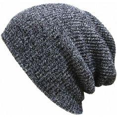 New Fashion Wool Blend Knit Unisex Men Women Beanie Oversize Spring Fall Winter…