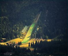 The Great Krokiew (Wielka Krokiew)-Zakopane,Poland by Bea Kotecka World Cup Skiing, Polish Mountains, Zakopane Poland, Tatra Mountains, Native Country, Ski Jumping, Beautiful World, Europe, Landscape