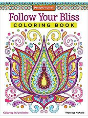 Adult Coloring Books - Follow Your Bliss Coloring Book