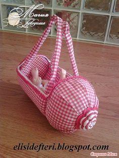 Игрушечная детская сумка-переноска из пластиковой баклажки - Гардероб для куклы - Страна Мам