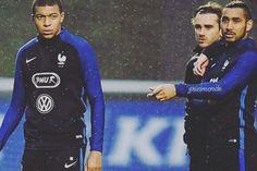Antoine Griezmann n'a pas caché son agacement après une nouvelle salve de questions au sujet de Kylian Mbappé.