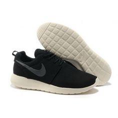 Women Nike Roshe One Shoes Black Gray