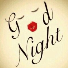 good night kiss - Buscar con Google
