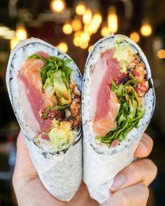 Sushi Recipe Ideas Burrito DC