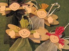 Angel Craft for Children's Christmas Festival | Flickr - Photo Sharing!