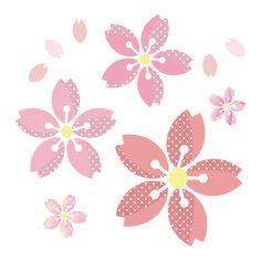 桜 イラスト ドットでかわいい♪