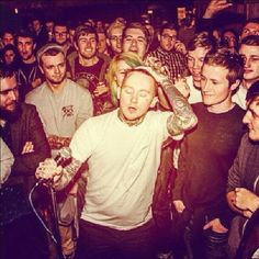 Frank Carter of Pure Love at the Leadmill (photo by @clarebewaresimmons) #socialsheffield #sheffield