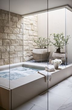 Spa Design, Deco Design, Bath Design, Design Trends, Design Ideas, Modern Design, Bathroom Spa, Master Bathroom, Bathroom Ideas