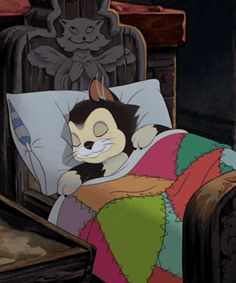 good night anime so cute Disney Cats, Disney Cartoons, Disney Pixar, Disney Characters, Gif Mignon, Sleeping Gif, Vintage Cartoons, Good Night Greetings, Good Night Gif