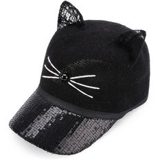 96fdaaf77f To find out about the Cat Ear Sequin Baseball Hat at SHEIN, part of our  latest Hats & Gloves ready to shop online today!