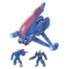 Mega Bloks  Halo Series Banshee - Blue