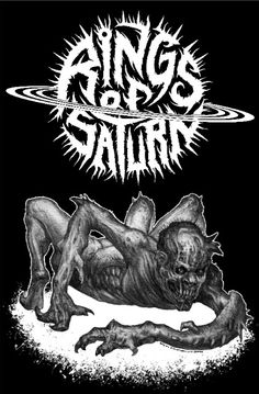 ROS is so fucking brutal Aliencore Rock N Roll, Metal Band Logos, Metal Bands, Rock Y Metal, Black Metal, Horror Font, Rings Of Saturn, Band Wallpapers, Metal Albums