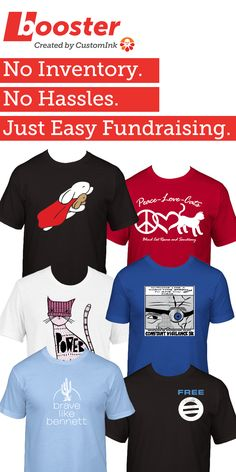 3116ab6a2024 Custom Ink Fundraising is a free crowdfunding platform that lets you create custom  t-shirt fundraisers for your cause.
