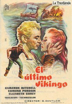 El Ultimo Vikingo - Programa de Cine - Cameron Mitchell - Edmund Purdom Epic Movie, Film Movie, Movies, Cameron Mitchell, Cinema, Actors, Movie Posters, Tv, Vintage