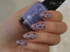 Nails with tails: BornPrettyStore stamping plate BP-L 003 [1/2]