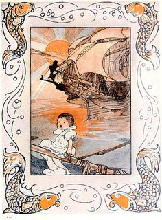 The big book of nursery rhymes' edited by Walter Jerrold; illustrated by Charles Robinson. Published 1903 by E. P. Dutton & Co