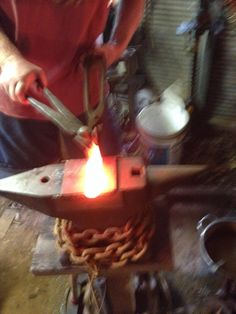 Forging my tomahawk