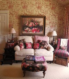 English Country - Toile, Chintz and Plaid