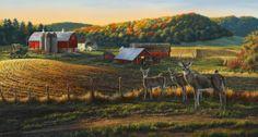 Harvest Time by Darrell Bush