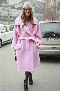 FLARE on Tumblr | Canada's Fashion Magazine: Anna Dello Russo at Men's Fashion Week/ Photo by...