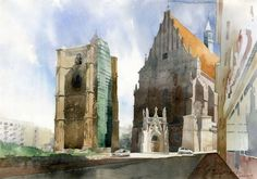 Grzegorz Wrobel - cathedral_in_nysa_by_greegw-d31tcy7
