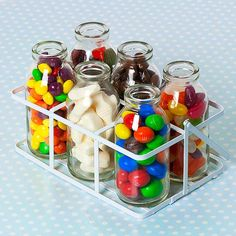 Hey, I found this really awesome Etsy listing at https://www.etsy.com/listing/155028205/sweet-filled-mini-milk-bottles-in-crate