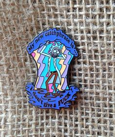 We are SO proud of this design!! Its our latest original design by The Heady Collective.  This pin was inspired by the Roll Credits scene in the Season