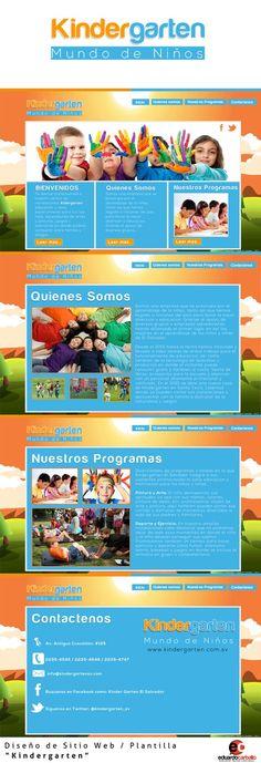 Web Design / Kindergarten /  by Eduardo Carballo