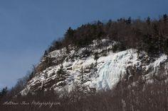 Ice walls at Frankenstein Ridge