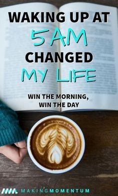 Waking Up At Changed My Life - Win The Morning, Win The Day - There Have Been So Many Positives In My Productivity Plus Dozens of Money, Health and Mind Benefits. Great productivity tips for mom. Eat Better, Better Life, Better Health, Good Habits, Healthy Habits, Earn More Money, How To Make Money, 5am Club, Mental Training