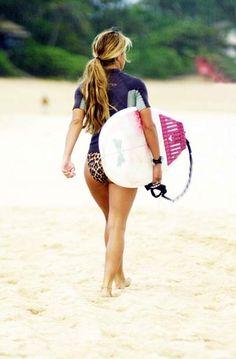Surfing Girls | surfing girl | Tumblr