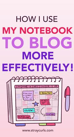 Learn how I use a notebook to increase my productivity as a blogger. Record blogging stats that will help you skyrocket your blog traffic and increase prductivity. #productivity #bloggingtips #blog