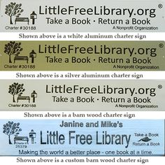 Register and Enjoy These Benefits | Little Free Library
