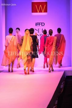 And there comes our #spellbound #Festive14 collection in the #IndiaRunwayWeek. #WFestiveLaunch