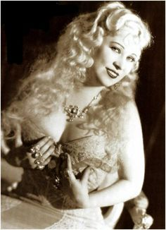 Mae West~you go girl, you with your beautiful curves!