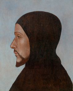 """Portrait of an Augustinian Monk, identified as Fra Mariano da Genezzano"" (c. 1480), Yale University Art Gallery. Mentioned in: http://arcade.nyarc.org/record=b176394~S6. #fricklibrary"